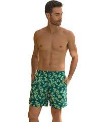 masculino swimwear pantaloneta multicolor leonisa 505031
