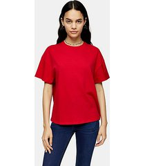 tall red weekend t-shirt - red