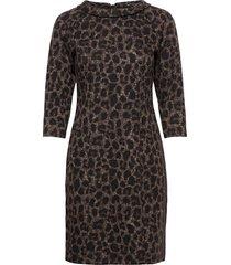 dress short 3/4 sleeve kort klänning svart betty barclay