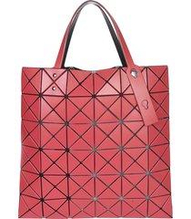 bao bao issey miyake lucent matte shopper bag