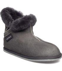 bella slippers tofflor grå shepherd