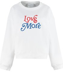 philosophy di lorenzo serafini cotton crew-neck sweatshirt