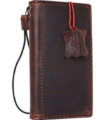 genuine real leather case for google pixel xl 2 book wallet cover brown slim new