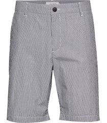 lyon seersucker shorts shorts chinos shorts blå les deux