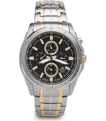 reloj casio ef_328sg_1av plateado acero inoxidable