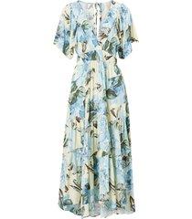 maxiklänning yasrosebloom 2/4 ankle dress