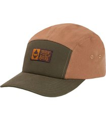 gorro runner canvas bitn brown gnomo