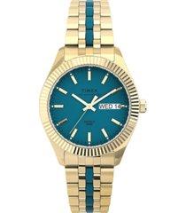 timex women's waterbury gold-tone stainless steel bracelet watch 36mm