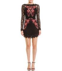 colcci lili short lace dress