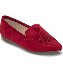 mocasines cleoti rojo para mujer croydon