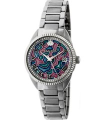 empress helena automatic silver stainless steel watch 36mm