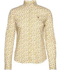 amalie liberty shirt overhemd met lange mouwen geel morris lady