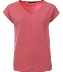 dayz aretha cupro v-hals met kapmouw top soft pink roze