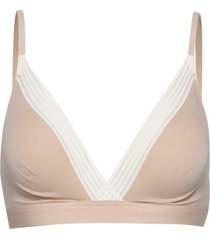 sloggi wow embrace bralette lingerie bras & tops bra without wire rosa sloggi