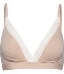 sloggi wow embrace bralette lingerie bras & tops soft bras rosa sloggi