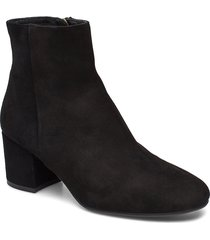 booties 3405 shoes boots ankle boots ankle boots with heel svart billi bi