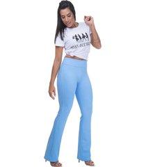 calã§a legging  miss blessed premium bailarinaâazul - azul - feminino - poliamida - dafiti