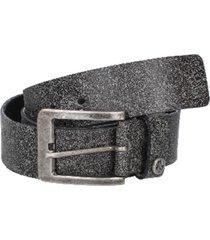 cinturón cuero gris oscuro panama jack