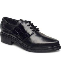 kate snörade skor låga svart nude of scandinavia