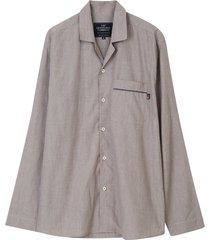 pyjamas unisex organic cotton chambray pajama set
