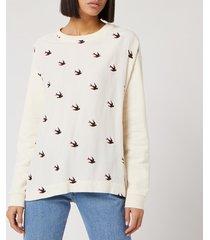 mcq alexander mcqueen women's umeko sweatshirt - oyster - m