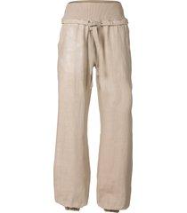 pantaloni in misto lino (beige) - rainbow