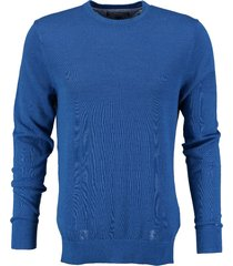 tommy hilfiger blauwe trui linen cotton