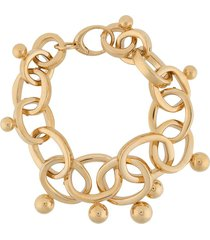 colville chunky chainlink necklace - gold