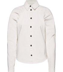 2nd kern thinktwice långärmad skjorta vit 2ndday
