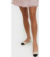nly shoes toe cap ballerina ballerina