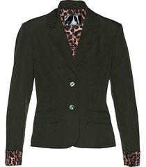 blazer con fodera leopardata (verde) - bpc selection
