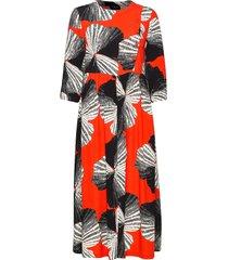 slfkairi 3/4 midi dress b jurk knielengte multi/patroon selected femme