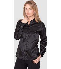 blouse mona zwart