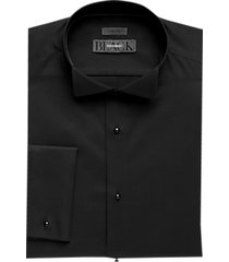 black by vera wang formal shirt black