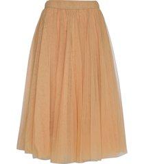 midi tulle skirt knälång kjol orange cathrine hammel
