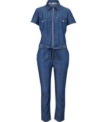 tuta sostenibile in tencel™ lyocell (blu) - john baner jeanswear