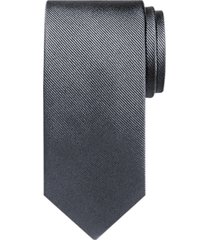 black by vera wang gray narrow extra long tie