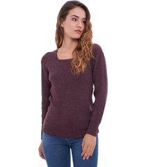 sweater violeta sans doute ellis