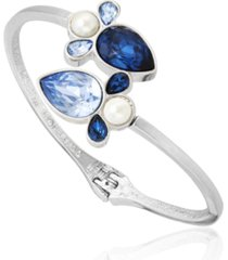 t tahari stones and shells bypass cuff bracelet