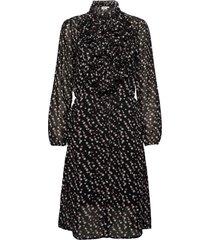 lillysz dress knälång klänning svart saint tropez