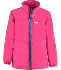 helly hansen lichtgewicht softshell jas paramount roze