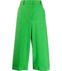 stella mccartney alisha tailored skirt - green