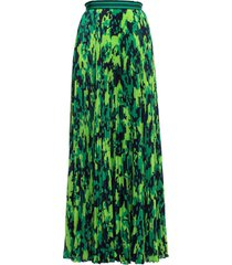 mr & mrs italy camou print long skirt