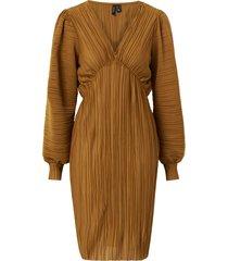 klänning vmjoelle l/s plisse dress