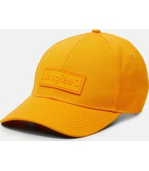 cap logo plate and messages - yellow - u