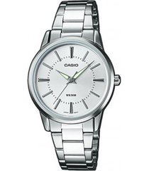 reloj kcasltp 1303d 7a casio-plateado