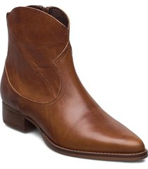 akoni shoes boots ankle boots ankle boot - heel brun re:designed est 2003
