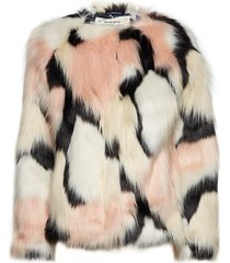 boogie lights jacket outerwear faux fur crème odd molly