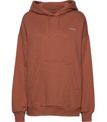holzweiler hoodie hoodie trui bruin holzweiler
