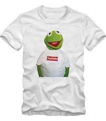 kermit supreme white t-shirt supreme style